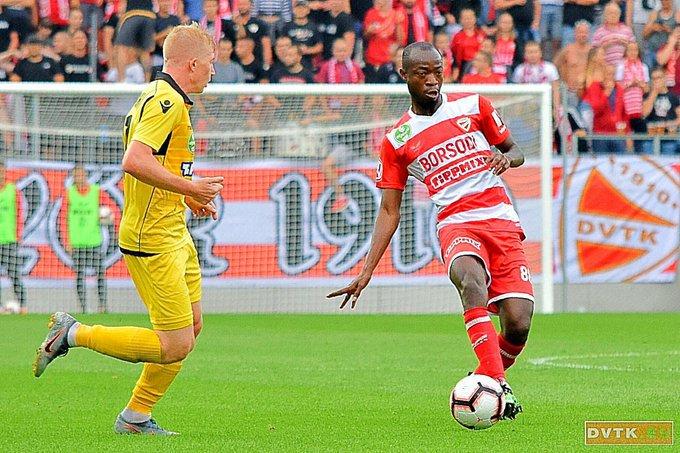Ghanaian midfielder Joachim Adukor part ways with Hungarian side Diósgyőri VTK