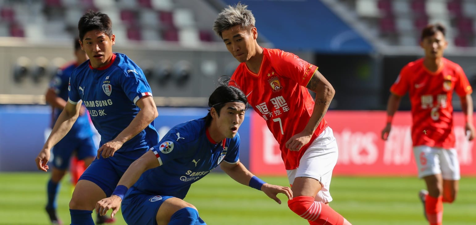 Suwon Samsung Bluewings, Guangzhou Evergrande battle to a stalemate in AFC Champions League showdown  | Football | News | AFC Champions League 2020