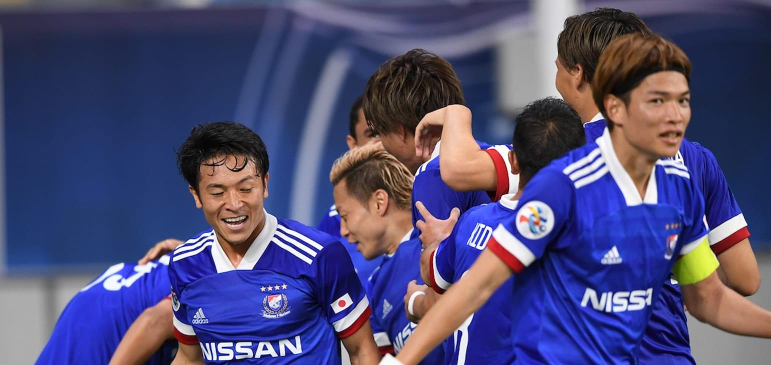 Late strike seals Yokohama F. Marinos AFC Champions League win against Shanghai SIPG  | Football | News | AFC Champions League 2020