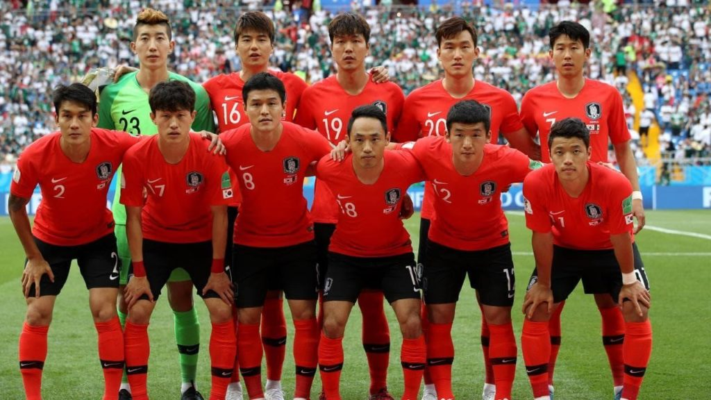 Korea is considered the top football team in Asia