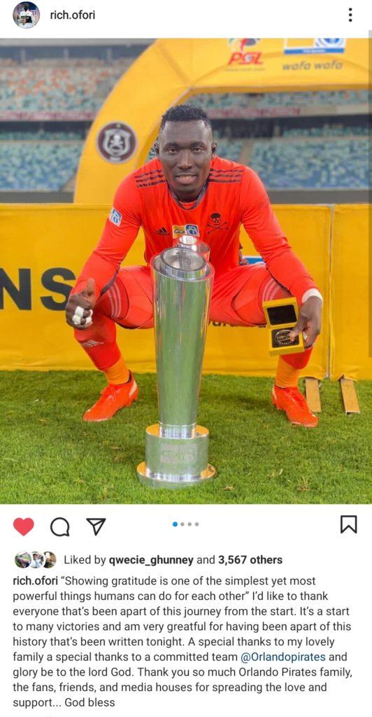 EXCLUSIVE! Ghana goalkeeper Richard Ofori nears Orlando