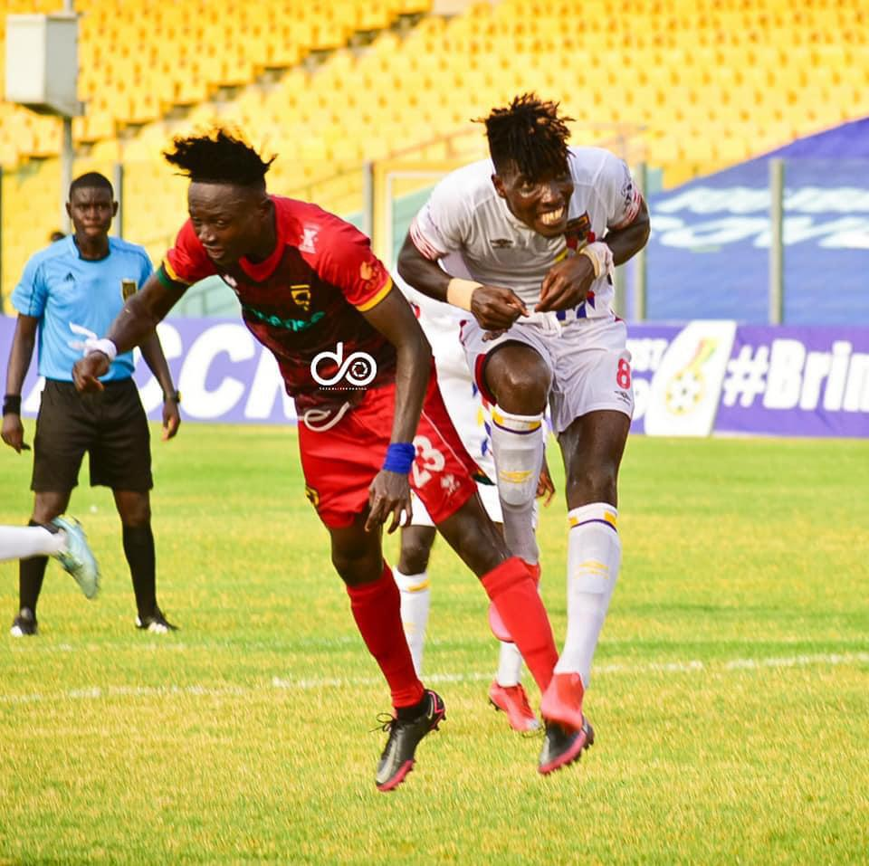 VIDEO: Watch Highlights of Super Clash between Asante Kotoko vs Hearts Oak  - Ghana Latest Football News, Live Scores, Results - GHANAsoccernet