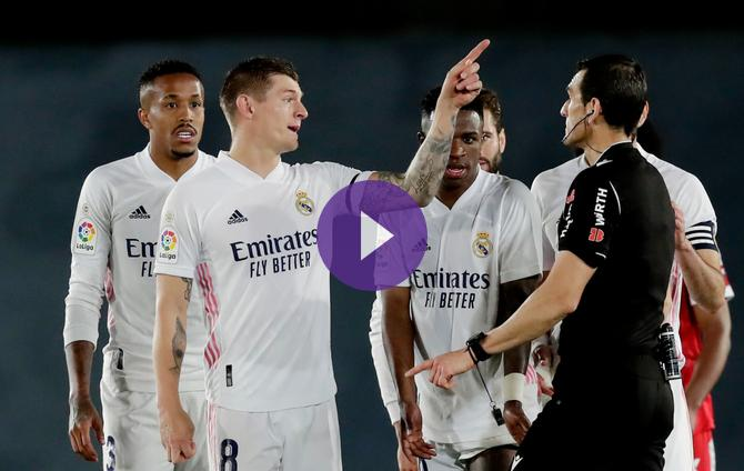 Real Madrid 2-2 Sevilla: Dramatic equaliser not enough to keep title in Los Blancos' hands