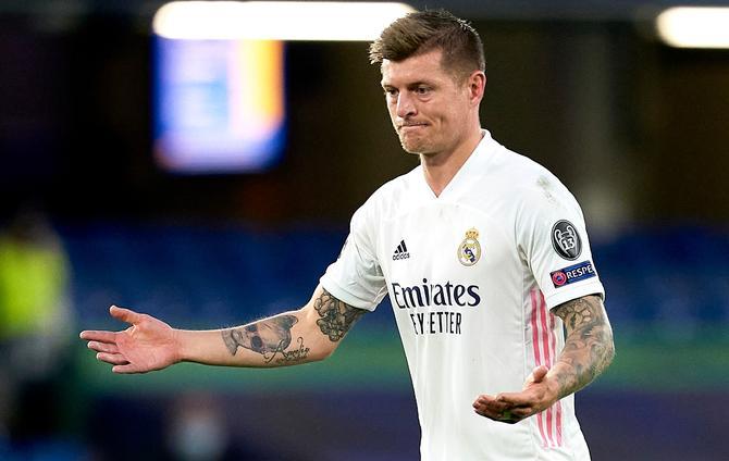 Madrid star Kroos fires back at Chelsea's Mount in 'losing sleep' spat