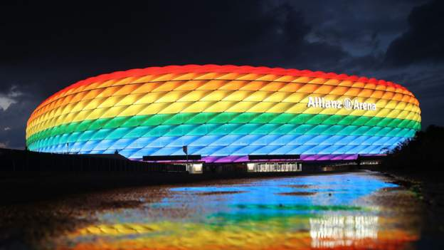 Euro 2020: Uefa declines request to light up Allianz Arena in rainbow colours