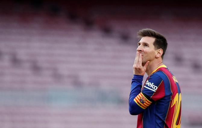 Barcelona president Laporta urges patience with new Messi deal
