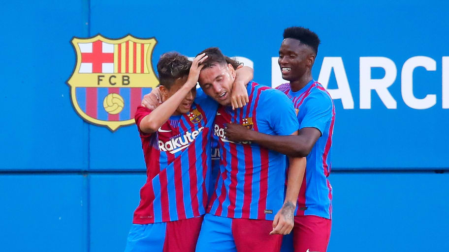 Rey Manaj bags hat-trick as Barcelona cruise to comfortable 4-0 friendly win