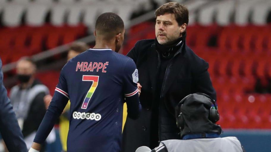 Kylian Mbappe stresses desire to leave PSG to Mauricio Pochettino