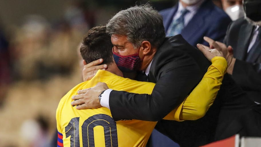 Joan Laporta to address Lionel Messi's Barcelona exit in press conference