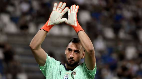 LIGUE 1 - Donnarumma: It is incredible to play with all these champions.