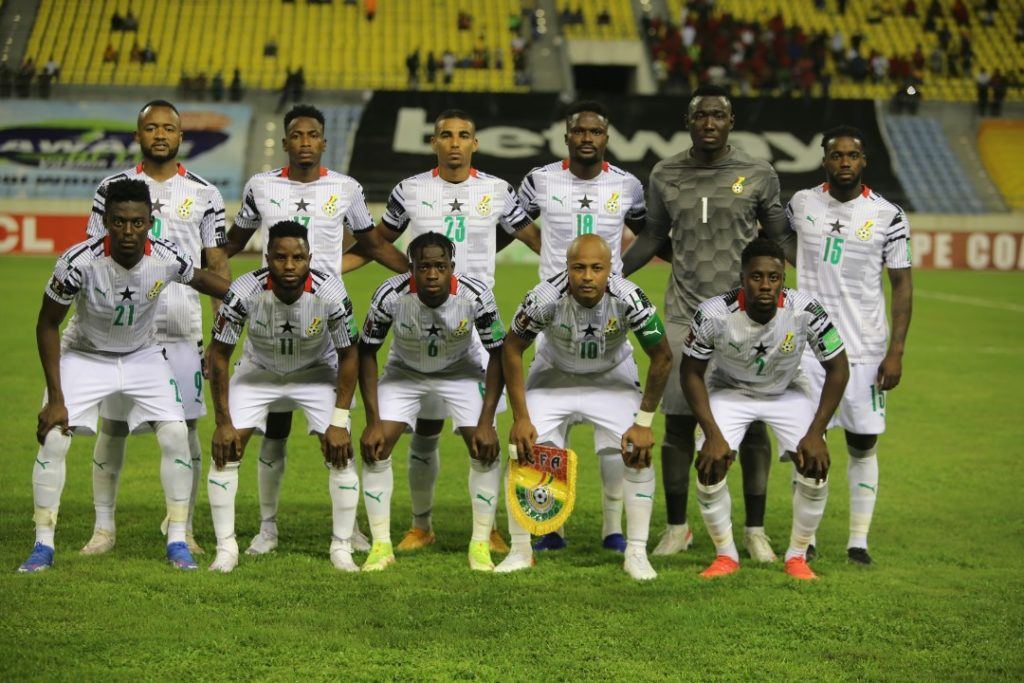 2022 World Cup Qualifiers: Ghana pip Ethiopia to go top of Group G after  first round - Ghana Latest Football News, Live Scores, Results -  GHANAsoccernet