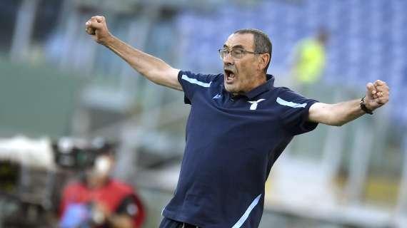 "SERIE A - Lazio, Sarri: ""Europa League was a beautiful event"""