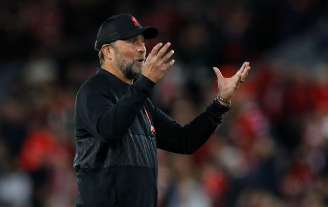 Liverpool 'cannot waste points' in title race, says Klopp