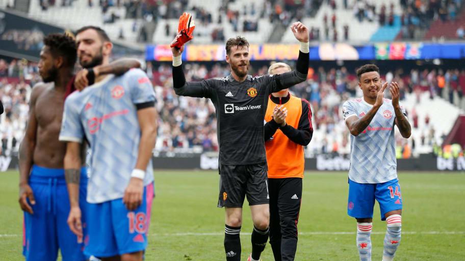 Jesse Lingard & David de Gea react to last-minute heroics in Man Utd win over West Ham