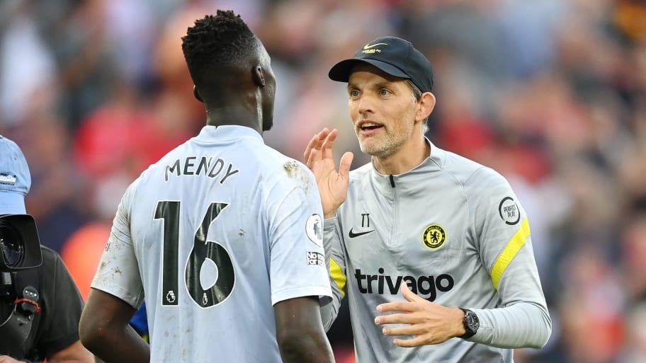 Thomas Tuchel provides Edouard Mendy injury update