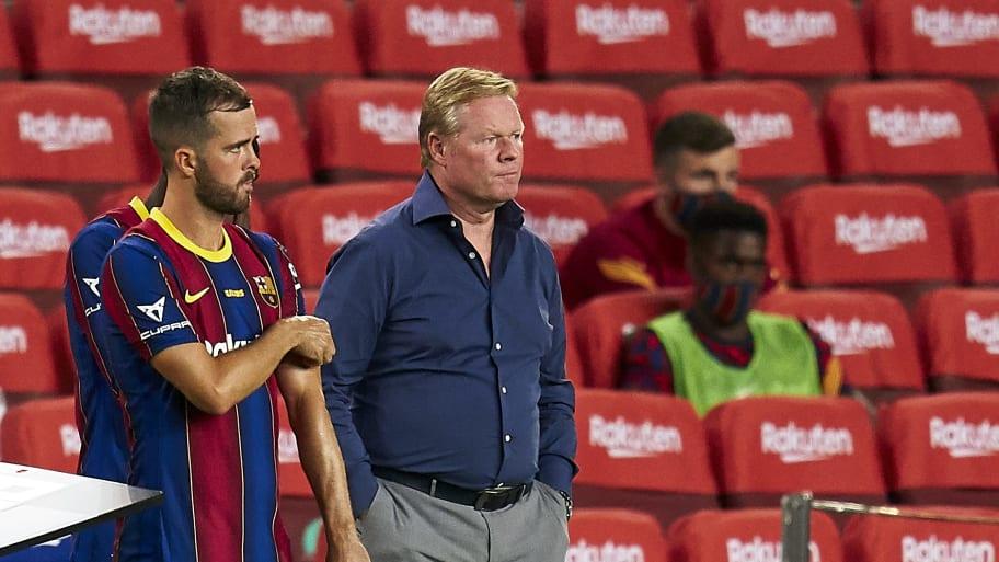 Miralem Pjanic criticises Ronald Koeman's Barcelona leadership