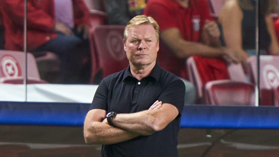 Ronald Koeman critical of timing of Barcelona backing