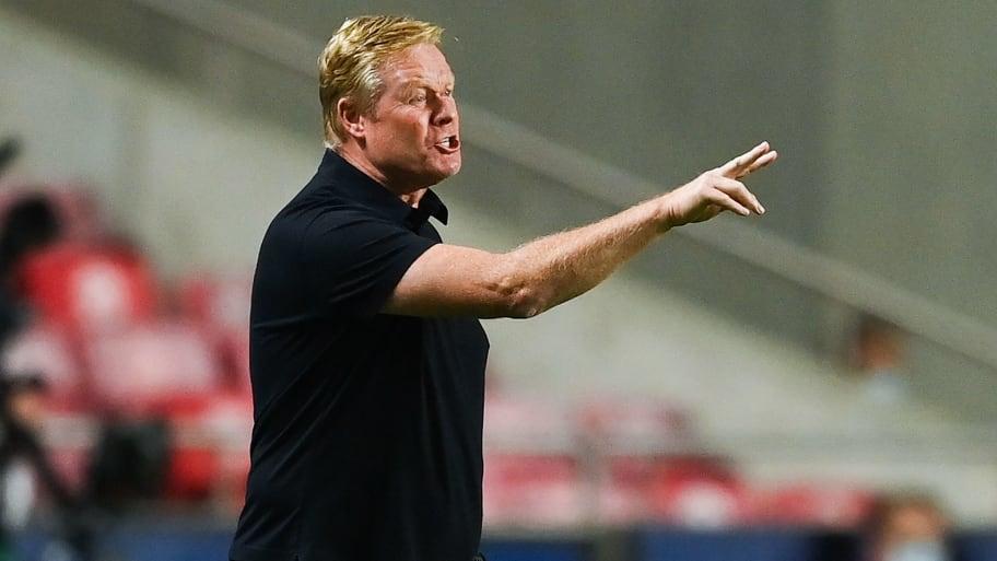 Joan Laporta insists Ronald Koeman will not be sacked by Barcelona